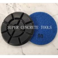 Wholesale 4 Inch 10mm Thickness Diamond Resin Concrete Floor Polishing Pads from china suppliers