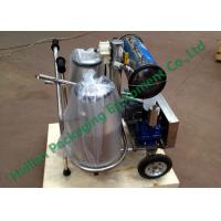 Wholesale Stainless Steel Cow Milk Sucking Machine 25Litre Double Milk Cans from china suppliers