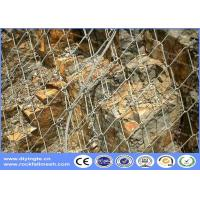 Quality Rockfall Barrier  high-tensile chain link Rockfall protection Slope Stabilisation wire mesh for sale