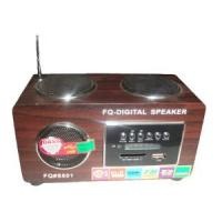 Wholesale Mini Speaker Mwith Display FM Radio Function MP3/Music Player  (UK-801) from china suppliers