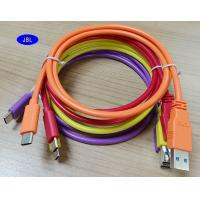 Wholesale Type C Round Shape Colorful 3.0 USB Cable For Nokia MI Macbook LeTv Gionne from china suppliers
