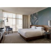 Buy cheap Commercial Luxury Hotel Bedroom Furniture Environmental Friendly Lacquer from wholesalers