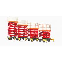 Wholesale AC 220V 380V Electric Scissor Lift Aerial Work Platform with 1750 - 12000 mm from china suppliers