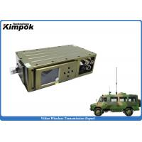 Wholesale UGV High-speed Wireless Video Transmitter Super Low Latency COFDM Video Sender NLOS from china suppliers