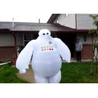 Wholesale Walking White Inflatable Baymax Costume Fashionable Environmental EN71 from china suppliers