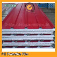 Wholesale Transparent PE Protective Film For Pre Painted Metals / Sandwich Panel 180 - 200g from china suppliers