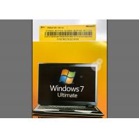Wholesale PC / Computer Windows 7 Ultimate 64 Bit Retail Product Key Microsoft Certified from china suppliers