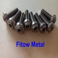 Wholesale Blue Anodized Titanium Bolts Vietnam Motorcycle Titanium Bolt M10*30mm from china suppliers