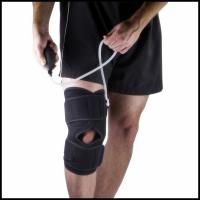 Wholesale Pneumatic Knee Wrap Support Brace with Hot and Cold Compression Therapy from china suppliers