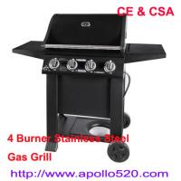 Wholesale 4 Burner Stainless Steel Gas Grill from china suppliers