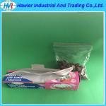 Vegetable refrigerate used resealable ziplock packaging bag