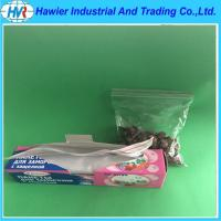 Quality Vegetable refrigerate used resealable ziplock packaging bag for sale