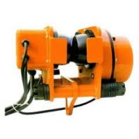 Buy cheap 0.5T--10T high quality electric trolley for electric chain hoist with certification from wholesalers