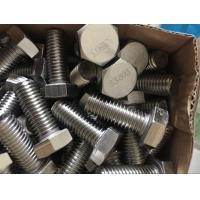 Wholesale 254 SMO Duplex Stainless Steel Fasteners UNS S31254 Hex Head Bolt Nut DIN 933 DIN 934 from china suppliers