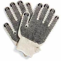 Wholesale 10 Gauge PVC Dotted String Knit Gloves/Cotton Knitted working glove/ Cotton Knitted With PVC Dotted from china suppliers