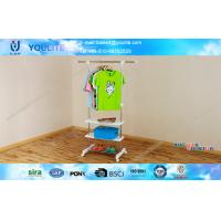 Wholesale Three Layer Single Pole Clothes Rack for Boutique Retail Store , Movable and Portable from china suppliers