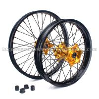 Buy cheap Custom 21 Inch Motorcycle Wheel Rims / Black Custom Motorbike Wheels from wholesalers