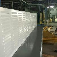 Wholesale Louver perforated absorptive acoustic noise barrier wall from china suppliers
