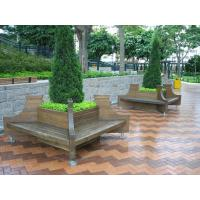 Wholesale Outdoor wpc flower pot/composite garden pot from china suppliers