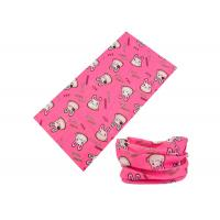 Pink Cute Style Kids Buff Headwear Extremely Durable Good Air Permeability
