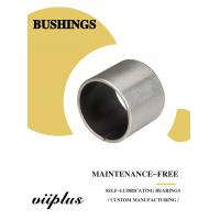 Wholesale Stainless Steel Ptfe / Kevlar Fabric Lined Split 316 Composite Bearings Flanged Bushes from china suppliers