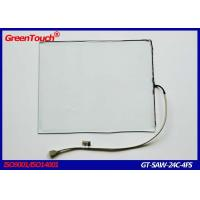 Wholesale Waterproof SAW Touch Screen 24 Inch For Multimedia Electronic Catalogs Kiosks from china suppliers