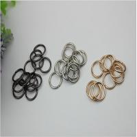 Wholesale Super cheap bag making accessories light gold small metal wire iron buckles wholesales from china suppliers