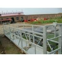 Wholesale 1.1 m Aluminum Window Cleaning Gondola Suspended Platform Cradle 300kgs Load from china suppliers
