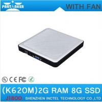 Wholesale Ultra Small Fanless Dual Core Mini Computer K620M Intel J1800 Dual core 2.41-2.58Ghz from china suppliers