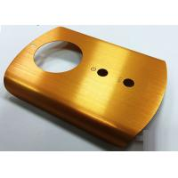 Brushed Finish Metal Parts Machining Stamping With CNC Machining Process