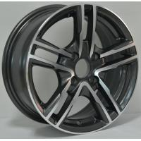 Wholesale Full Painted Chrome 13 Inch Alloy Wheels with Machine Cut Face for Car KIN-169 from china suppliers