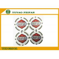 Wholesale 32mm 11.5G Round PS Custom Poker Chip Grey Color For Education from china suppliers