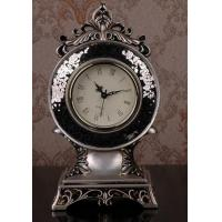 Wholesale best selling euro style resin table clock  desktop clock from china suppliers