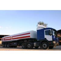 Wholesale 40000L-3 Axles-Carbon Stee Tanker Refuel Semi-Trailer from china suppliers