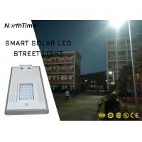 Buy cheap 2018 New Design 1900lm 30W Panel Solar Powered LED Street Garden Light with Phone APP from wholesalers