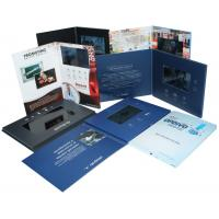 Quality 4G / 8G Full colors handmade Video Wedding Invitations with Magnetic switch , customized for sale