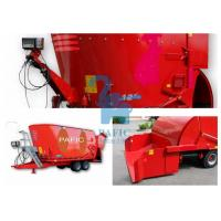 Wholesale Hay Grinder Mixer Feed Trailer With Auger And Electronic Weighting System from china suppliers
