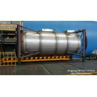 Wholesale 20ft stainless steel Portable iso Tank Container  WhatsApp:8615271357675  Skype:tomsongking from china suppliers