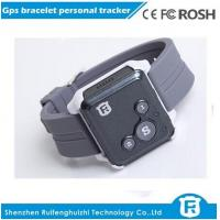 Wholesale Sos button personal tracker/small gps child tracking bracelet tracker for kids rf-v16 from china suppliers