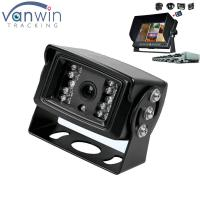 Wholesale 18 IR lights 24V HD Truck reverse camera with aviation connector , 15M IR distance from china suppliers