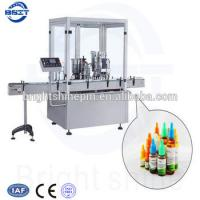 Wholesale high quality E-liquid  Plastic bottle  Filling sealing packing machine capacity 80-100pcs/min from china suppliers