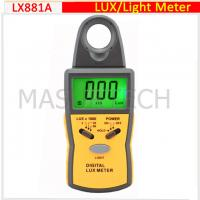 Wholesale digital light meter, lux meter  0.1Lux~50,000Lux  LX881A from china suppliers