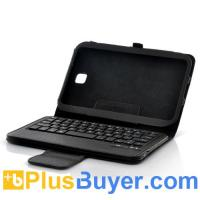 Wholesale Detachable Bluetooth Keyboard + Leather Case For Samsung Galaxy Note 8.0 - Black from china suppliers