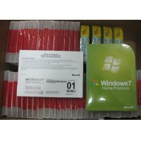 Quality OEM Windows 7 Softwares Full Version Microsoft Windows 7 Retail Box 32bit x 64 Bit for sale