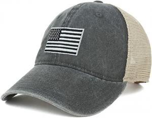 Wholesale 62cm Unisex Retro 6 Panel Snapback Cap Camo Mesh Trucker Hat from china suppliers