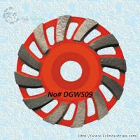Wholesale Swirling Segment Cup Grinding Wheel - DGWS09 from china suppliers
