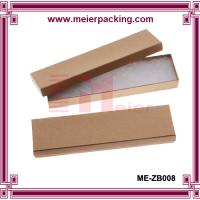 Wholesale Small Kraft Paper Cardboard Boxes for Necklace Jewelry Set ME-ZB008 from china suppliers