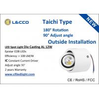Wholesale COB 10W LED Spot Lights Outdoor / Indoor White Housing Taichi Type from china suppliers