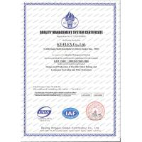 Tianjin KT-FLEX Co., Ltd Certifications