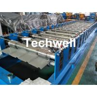 Wholesale 0-15m/min Forming Speed High Precision Color Steel Roof Panel Roll Forming Machine With Chain Driving from china suppliers